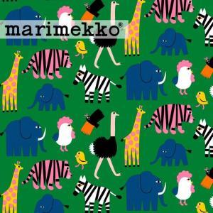 [ 1.5mまでメール便送料無料 ] マリメッコ MARIMEKKO イソティーコニ 生地 グリーン ( 30cm以上〜10cm単位で切り売り ) [ ファブリック ] kitchen