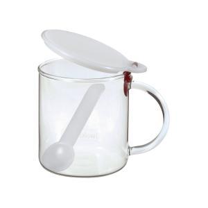 イワキ 調味料ポット(砂糖)( KJ500S-R ) 【 iwaki 調味料入れ 保存容器 】|kitchen
