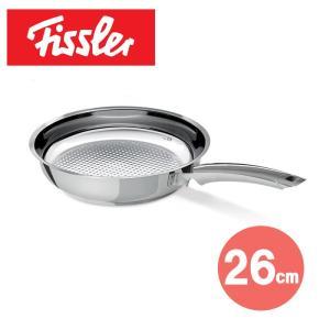 フィスラー クリスピープレミアムフライパン26cm 121-400-261 【 Fissler ステンレス 】 kitchen