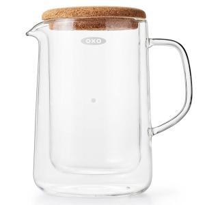 【ポイント10倍】オクソー ダブルウォールガラスサーバー 11207200 【 OXO コーヒーサーバー ガラス コーヒー用品 調理器具 】|kitchen