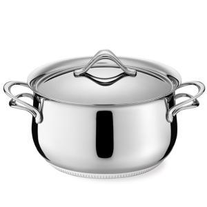 ラゴスティーナ Lagostina メロディア ラゴフュージョン シチューポット 両手鍋  ( 蓋付 ) 16cm 011110031216|kitchen