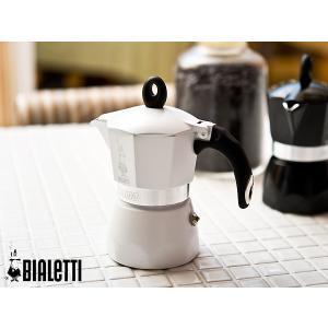 BIALETTI/ビアレッティ DAMAエスプレッソメーカー 3杯用<ホワイト>|kitchen