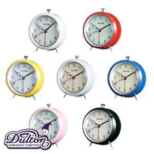 DULTON/ダルトン アラーム クロック ( クォーツ ) ( 100053Q ) 選べる7色|kitchen
