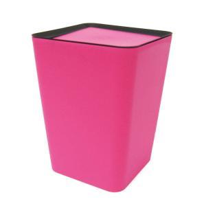 primal designs ダスト ボックス フリップ ( ミニ ) スクウェア ( T-1005 ) ピンク [ ごみ箱 ]|kitchen