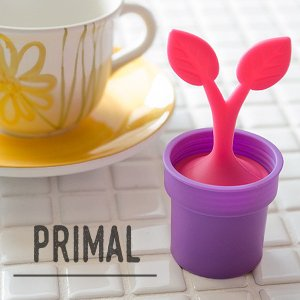 primal designs シリコン ティーインフューザー ( TI-800 ) ピンク [ プライマルデザイン 紅茶小物 ]|kitchen