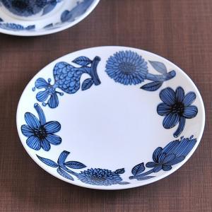 グスタフスベリ ブルーアスター プレート 18cm 復刻版|kitchen