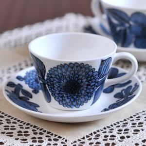 グスタフスベリ ブルーアスター コーヒーカップ&ソーサー 復刻版|kitchen