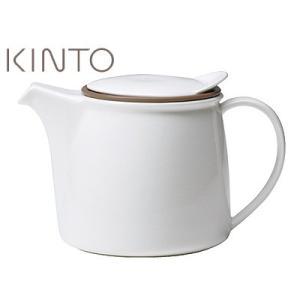 KINTO/キントー BRIM/ブリム ティーポット 750mL<ホワイト>|kitchen