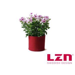 LZNデザイン ハイド フェルト鉢カバー S 【スウェーデン/北欧雑貨】<レッド>|kitchen