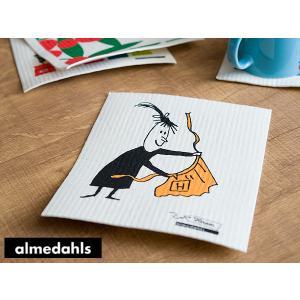 《6点までメール便可能》Almedahls/アルメダールス スポンジワイプ 【スウェーデン/北欧雑貨】(70658)<ミセスハリー/イエロー>|kitchen