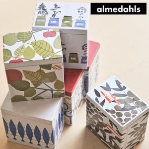 Almedahls/アルメダールス 缶 【ティー缶/紅茶缶/ブリキ/スチール/保存容器/スウェーデン/北欧雑貨】<S>|kitchen