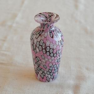 ベネチアンガラス ベース ( 花瓶 ) ( 678 ) ピンク|kitchen