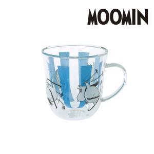 ムーミン ダブルグラス マグ <ムーミン> 【 MOOMIN double glass mug 北欧 マグカップ 耐熱ガラス 】|kitchen