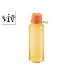 VIV/ヴィヴ シリコンボトル 500mL 【SILICONE BOTTLE/水筒】(59832)<オレンジ>|kitchen