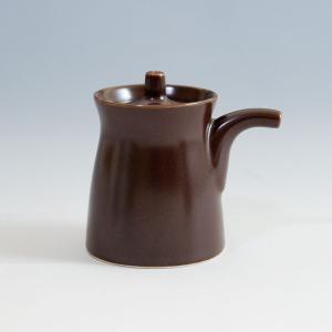 白山陶器 G型しょうゆさし ( 小 ) 鉄砂 [ HAKUSAN 和食器 森正洋デザイン ]|kitchen