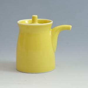 白山陶器 G型しょうゆさし ( 大 ) 黄 [ HAKUSAN 和食器 森正洋デザイン ]|kitchen
