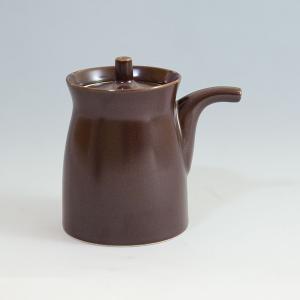 白山陶器 G型しょうゆさし ( 大 ) 鉄砂 [ HAKUSAN 和食器 森正洋デザイン ]|kitchen
