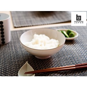 白山陶器 ベーシック 4.2寸飯碗 白マット [ HAKUSAN 和食器 ] kitchen