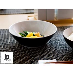 白山陶器 麻の糸 シリアルボウル15cm インディゴ|kitchen