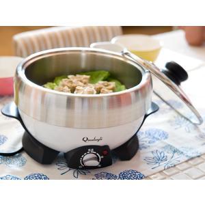 36%OFFカラー電気グリル鍋(DGN-801N CIV)<アイボリー>|kitchen
