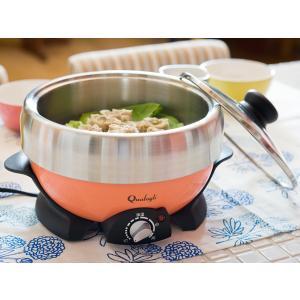36%OFFカラー電気グリル鍋(DGN-801N COR)<オレンジ>|kitchen