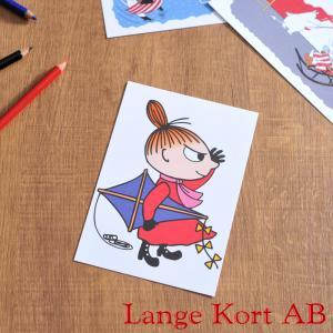 ラングアート ムーミン ポストカード ( M1061 ) GIFTCARD Lange Kort Moomin MOOMIN ギフトカード 北欧|kitchen