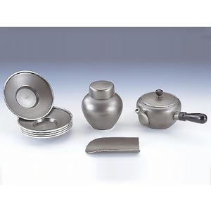 【ポイント10倍!】[ 送料無料 ] 大阪錫器 茶器揃 みやび [ 桐箱入り ] kitchen