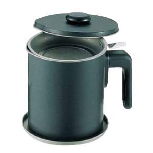 ブラック・フィギュアオイルポット(テフロン加工)1.5リットル|kitchen