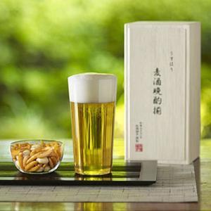 松徳硝子 うすはり タンブラーL&柿ピー小鉢 セット (木箱入り) 【 グラス コップ ビールグラス タンブラー 小鉢 ギフト 】(2911092)|kitchen