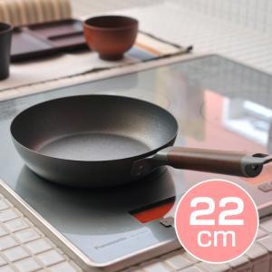 【 送料無料 】 下村企販 窒化加工 鉄フライパン 22cm ( 35712 )【 シモムラ IH対応 】 kitchen