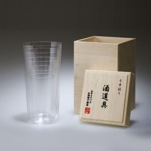 松徳硝子 うすはり 酒道具 タンブラー 5種セット 木箱入り|kitchen