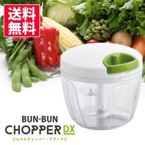 【P10倍!】[ 送料無料 ] ぶんぶんチョッパー ( デラックス ) bunbun DX みじん切り器 手動式 700ml|kitchen