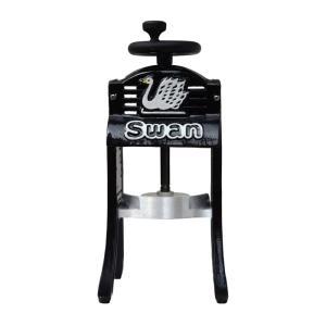池永鉄工 スワン かき氷機 手動式 ブラックスワン<ブラック> kitchen