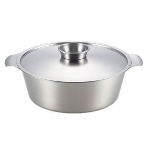 ヨシカワ 贅(Zei) ステンレス寄せしゃぶ鍋 26cm|kitchen