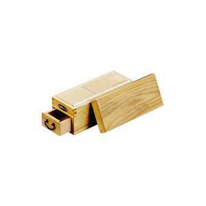 木製 かつ箱いろり端(キハダ材)|kitchen