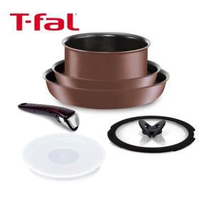 ティファール インジニオ・ネオ IH トパーズ・エクセレンス セット 6 L66892 フライパン ソースパン ガラス蓋 T-fal|kitchen