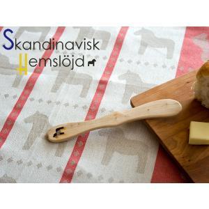 Skandinavisk Hemslojd ヘムスロイド キッチンタオル&バターナイフ ダーラナホース|kitchen