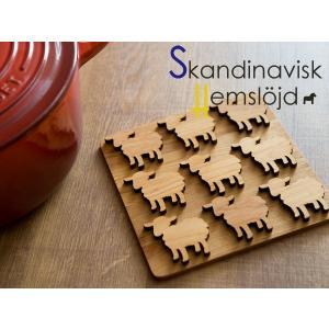 [ 1個までメール便可 ] Skandinavisk Hemslojd ヘムスロイド なべしき|kitchen