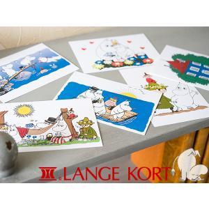 Lange Kort ラングアート ムーミン ポストカード A [ GIFTCARD ]|kitchen