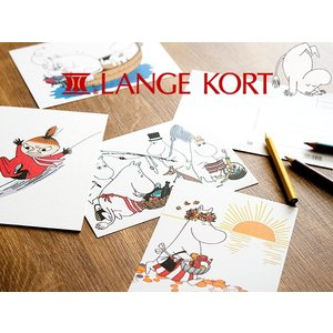 Lange Kort ラングアート ムーミン ポストカード B [ GIFTCARD ]|kitchen