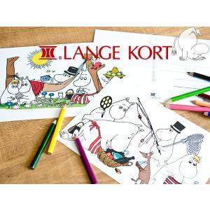 Lange Kort ラングアート ムーミン ポストカード [ GIFTCARD ] L|kitchen