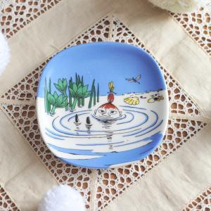 【 アンティーク 】 アラビア ムーミン ミニウォールプレート <泳ぐリトルミィ> 《 ビンテージ vintage ヴィンテージ 》 【 Arabia moomin 】|kitchen