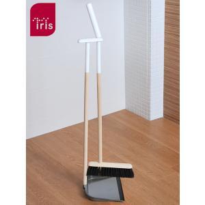 iris hantverk/イリスハントバーク ちりとりブラシセット Lovisa 【ほうき/室内】<ホワイト>|kitchen