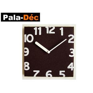 パラデック PalaDec Torno フェルトクロック トルノ 壁掛け時計 Pala-Dec 時計ブラウン|kitchen