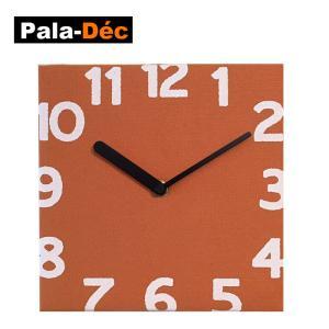 パラデック PalaDec Torno フェルトクロック トルノ 壁掛け時計 Pala-Dec 時計オレンジ|kitchen