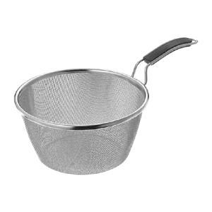 工房アイザワ ちゅうぼうこもの シリコンハンドル ボイルバスケット 200mm (70417)|kitchen