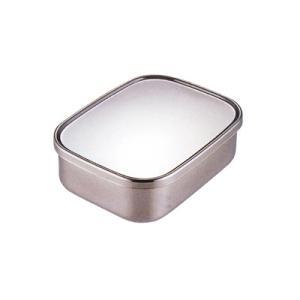 工房アイザワ UTILE serve-pot 角長容器浅型 S 400cc (6201)|kitchen
