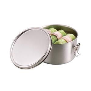 工房アイザワ UTILE serve-pot 丸容器深型 止金付き  L  (6308)|kitchen