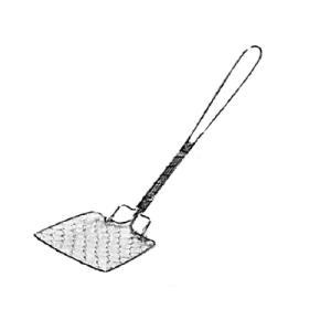 工房アイザワ しゃれた小道具 手編みシリーズ1 豆腐スクイ (1125)|kitchen