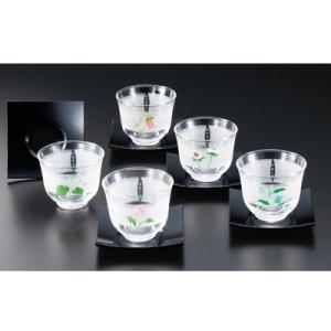 江戸友禅 冷茶セット(SC7-250)|kitchen